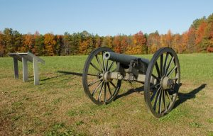 Battlefield-memorabilia-at-Five-Forks-in-Virginia