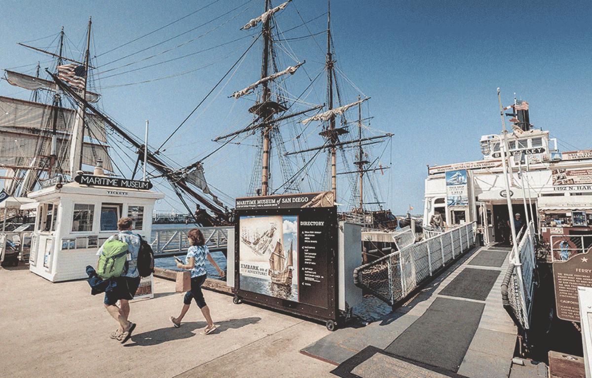 Maritime Museum Entrance